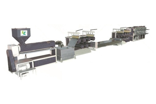 Extrusion Tarapaulin Lamination Machine