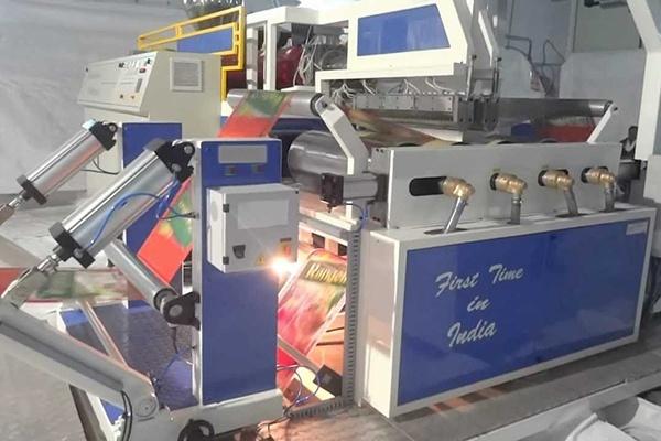Twin Die Extrusion Coating Lamination Machine Blown Film